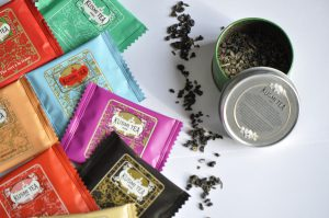 Verschiedene Sorten von Kusmi Tee
