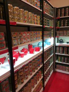 Der Kusmi Tee Store in Mailand