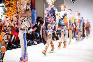 Ich gehe zur Fashion Week Berlin
