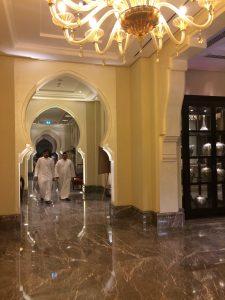Ein Teil der Gänge im Hotel