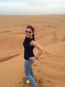 Ein toller Ausblick in der Wüste