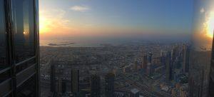 Dubai bei Sonnenuntergang