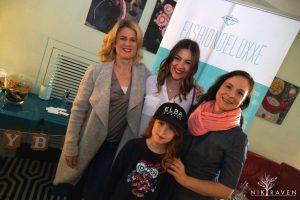 Gemeinsam mit Christine Lindemann und Iris Fellner mit ihrer Tochter Ella - der HORIZONT e.V. freute sich über die tolle Spende und das ganze Event