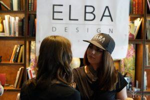 Den perfekten Lidstrich zog Elba Design in der Beautylounge
