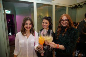 """Zeit zum Anstoßen mit dem """"Fashion Spring Cocktail"""" - gemeinsam mit Julia Anna Friess und Aleša Mušic"""
