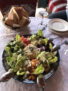 Frischer marokkanischer Salat