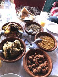 Traditionelle marokkanische Küche