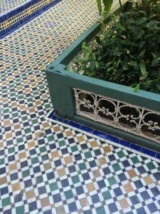 Bahia Palast Fußboden