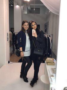 Auch Jessica von It's Jess (ihr kennt sie vom Fashiondeluxxe Charity Bazar) habe ich hier getroffen