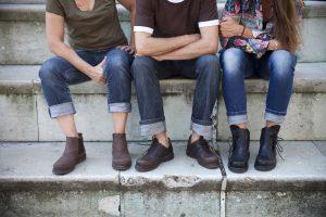 Haferlschuhe zu Jeans kombiniert (Quelle: Original Haferl)