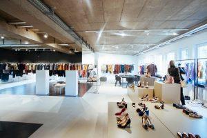 Der Showroom von der PR Agentur Le Bureau (Quelle: Le Bureau)