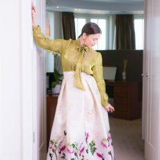 Red Carpet: Eleganter Glamour Look von Barbara Weigand Couture