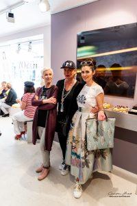Claudia Effenberg (Designerin und Ehefrau von Stefan Effenberg) war als VIP Gast geladen