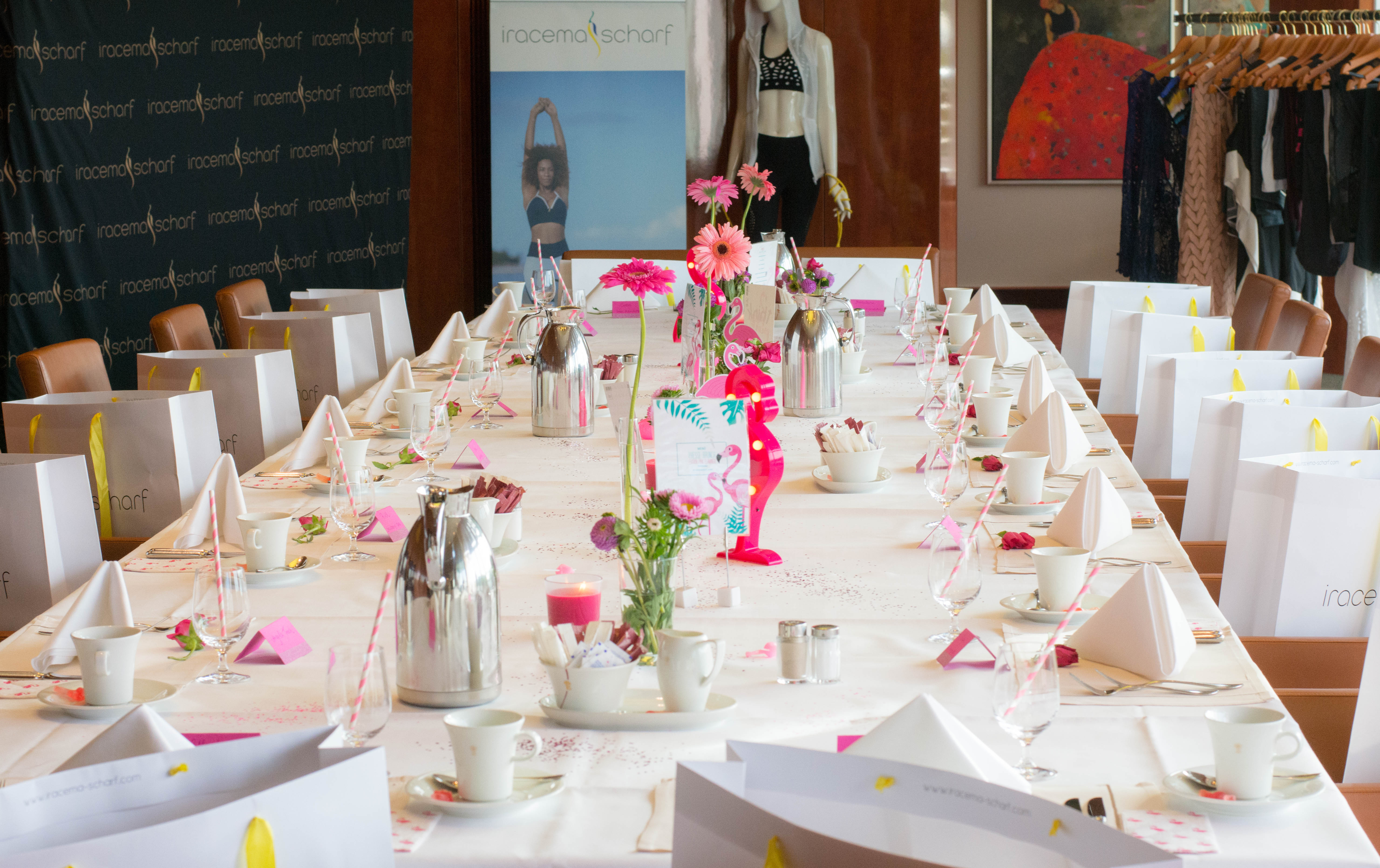 Presse Brunch by Fashiondeluxxe in Hamburg und München – Edition: PINK FLAMINGO