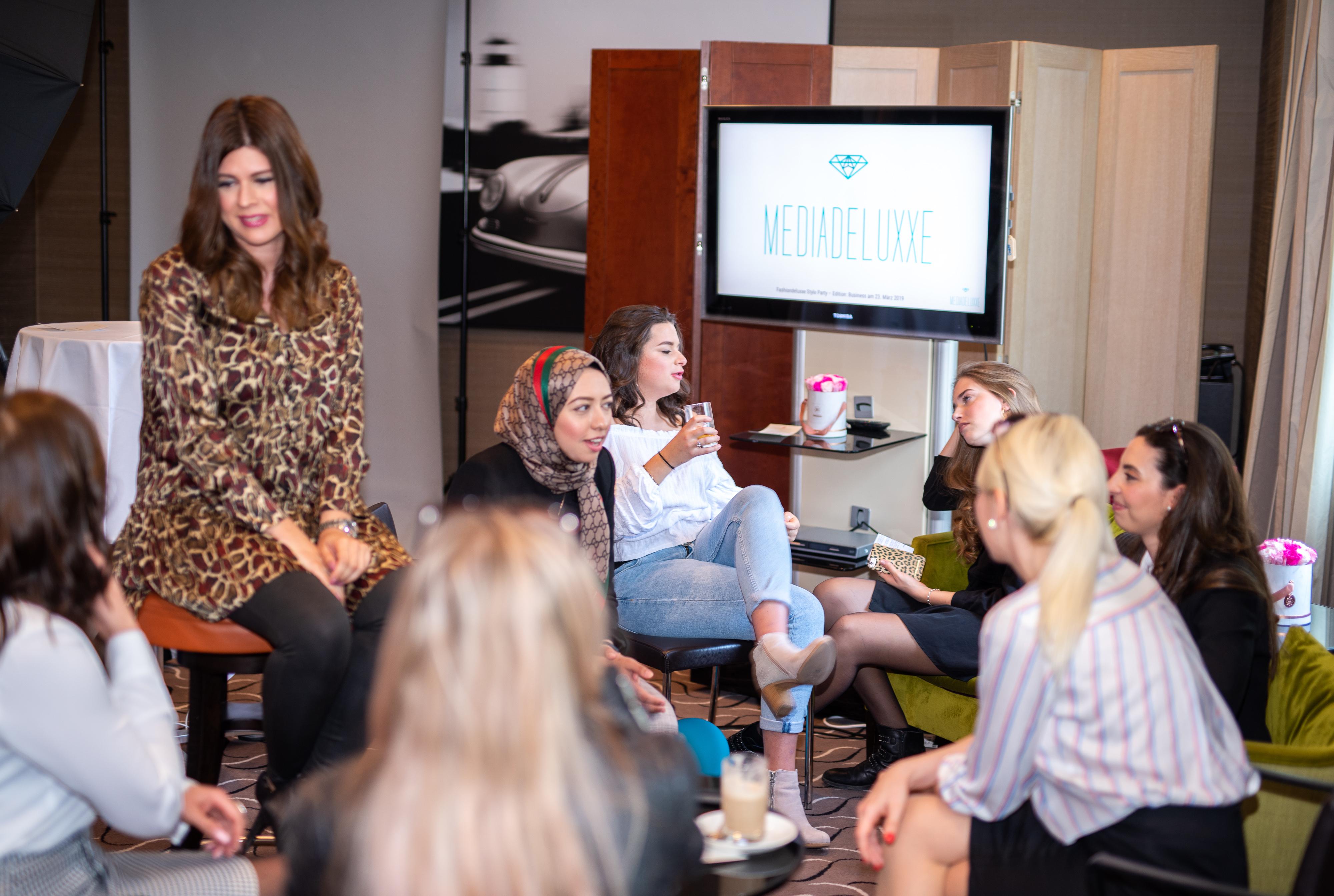 Networking Deluxe by Mediadeluxe! Die Fashiondeluxxe Style Party - Edition: Business bot den Business Women in München eine stilvolle Plattform für's Netzwerken